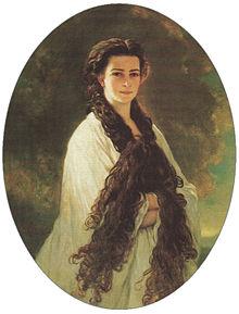220px-Empress_Elisabeth_of_Austria,_1864
